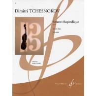 TCHESNOKOV D. SONATE RHAPSODIQUE OP 61 ALTO