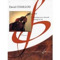 CHAILLOU D. SEUL VIOLONCELLE
