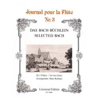 BACH J.S. PIECES CHOISIES FLUTES