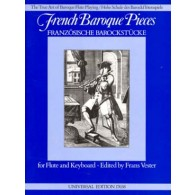 FRENCH BAROQUE PIECES FLUTE