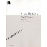 MOZART W.A. SONATAS VOL 1 FLUTE