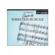 LABROUSSE M. COURS DE FORMATION MUSICALE 5ME ANNEE CD