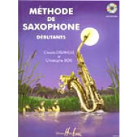 DELANGLE C./BOIS C. METHODE VOL 1 SAXOPHONE ALTO + CD