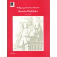 MOZART W.A. OPERATIC HIGHLIGHTS FLUTES
