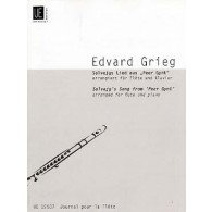 GRIEG E. SOLVEIG'S SONG FROM PEER GYNT FLUTE