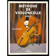 BOURIN O. METHODE DE VIOLONCELLE VOL 2