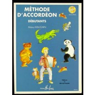 MAUGAIN M. METHODE ACCORDEON DEBUTANTS VOL 1