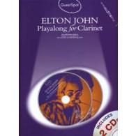 GUEST SPOT ELTON JOHN PLAY ALONG CLARINETTE