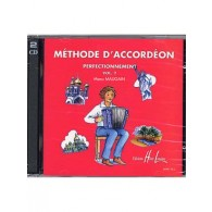 MAUGAIN M. METHODE ACCORDEON VOL 2 CD