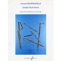 BOURNONVILLE A. DANSE POUR KATIA FLUTE