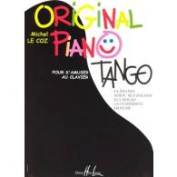 LE COZ M. ORIGINAL PIANO TANGO