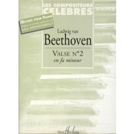 BEETHOVEN L.V. VALSE N°2 PIANO