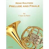 RUIJTERS R. PRELUDE FINALE COR