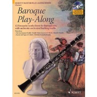 BAROQUE PLAY-ALONG CLARINETTE
