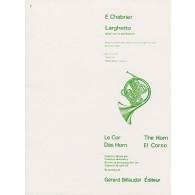 CHABRIER E. LARGHETTO COR
