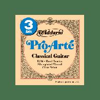 PACK DE 3 JEUX DE CORDES CLASSIQUES D'ADDARIO EJ46-3D PRO ARTE