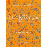 ALLERME J.M. PIANOTES JAZZ LIVRE 3 PIANO 4 MAINS