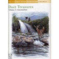 ADULT PIANO CURRICULUM DUET TREASURES VOL 2 PIANO 4 MAINS