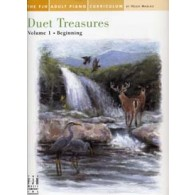 ADULT PIANO CURRICULUM DUET TREASURES VOL 1 PIANO 4 MAINS