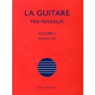 CHATEAU O. LA GUITARE PAR NIVEAUX VOL 2