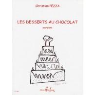 PEZZA C. LES DESSERTS AU CHOCOLAT PIANO
