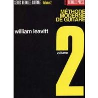 BERKLEE/LEAVITT METHODE MODERNE DE GUITARE VOL 2