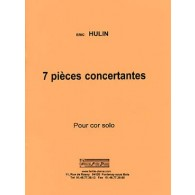HULIN E. PIECES CONCERTANTES COR