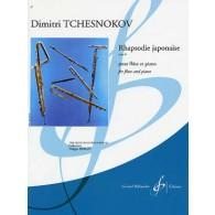 TCHESNOKOV D. RHAPSODIE JAPONAISE OP 48 FLUTE