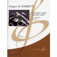 BARRETT G.M. CLARINET ETUDES FROM THE WORLD CLARINETTE