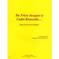 GUILLONNEAU C. DE FRERE JACQUES A CADET ROUSSELLE COR