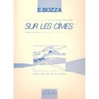 BOZZA E. SUR LES CIMES COR EN FA