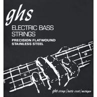 JEU DE CORDES BASSE GHS STRINGS 3050M FILE PLAT STAINLESS STEEL