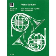 STRAUSS F. CONCERTO OP 8 COR