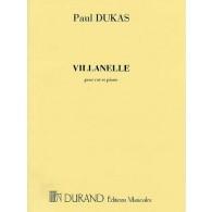 DUKAS P. VILLANELLE COR