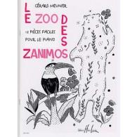MEUNIER G. LE ZOO DES ZANIMOS PIANO