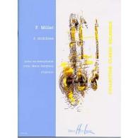 MILLET F. 3 DRIBBLES SAXO ALTO OU TENOR