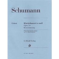 SCHUMANN R. CONCERTO OP 54 2 PIANOS