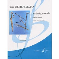 DEMERSSEMAN J. INTRODUCTION ET TARENTELLE OP 2 N°5 FLUTE