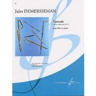 DEMERSSEMAN J. PASTORALE OP 2 N°3 FLUTE