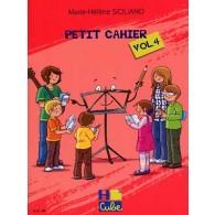 SICILIANO M.H. PETIT CAHIER VOL 4
