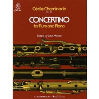 CHAMINADE C. CONCERTINO OP 107 FLUTE
