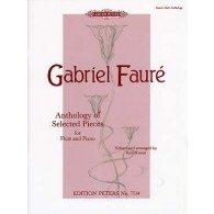 FAURE G. ANTHOLOGY PIECES FLUTE