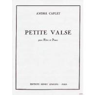CAPLET A. PETITE VALSE FLUTE