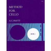 PIATTI A.C. METHOD FOR CELLO BOOK 1