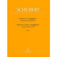 SCHUBERT F. SONATE ARPEGGIONE FLUTE