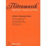BACH J.S. 6 SONATES BWV 525-530 VOL 2 FLUTE