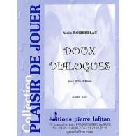 ROIZENBLAT A. DOUX DIALOGUES FLUTE
