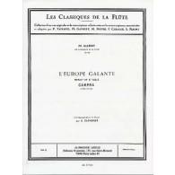CAMPRA A. EUROPE GALANTE FLUTE