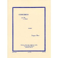 IBERT J. CONCERTO FLUTE
