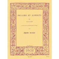 BUSSER H. PRELUDE ET SCHERZO FLUTE